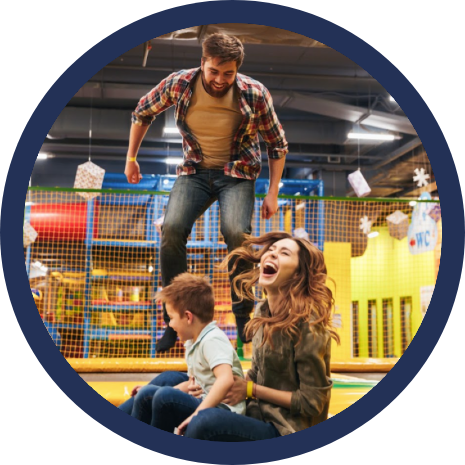 Booking System for trampoline parks